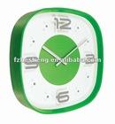 Plastic square clock/antique clock