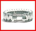 2012 latest wholesale metal buckle survival paracord bracelet buckles wpb-0022