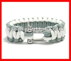 2012 latest wholesale metal buckle survival paracord bracelet buckles wpb-0022