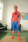 Charming spider-man mascot cartoon characters costume
