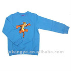 tiger love fish children Autumn hoodies