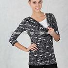2011 fashion printing blouse SK095