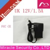 !!!! Discount UK Plug-in hard disk 13v dc power adapter 12V 1.5A