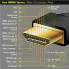 HDMI TO HDMI Cable,A TO A Cable