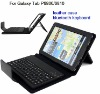 Leather Case Keyboard For Samsung Galaxy Tab P6800/6810