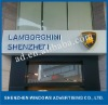 3D lighting led box for shop front