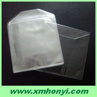 color paper or plastic CD sleeve with flap