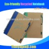 Eco-friendly recycled notebook with pen-new arrivel
