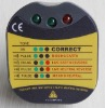 Plug Socket Tester with Various Countries Plug Standard