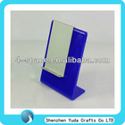 colord perspex cell phone display/acrylic plexiglass cell phone display rack
