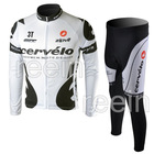 2010 Long sleeve Cycling wear Cycling Jersey & bicycle pants