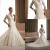 2013 hotsale fashionable and elegant lace wedding dress SYF-5057