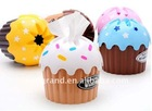 tissue holder cake shape tissue holder