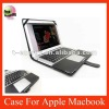 Leather Case For Apple Macbook Air 13'' inch,free shipping,Black color