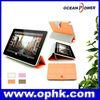 7.9 inch triple folding auto wake/sleep smart cover slim folio book leather case for ipad mini