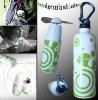 Novelty Bottle Shape Fan With Carabiner