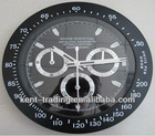 Watch shape frame wall clock 34CM SIZE and any logos will be ok