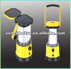 Folded panel LED Solar Lamp