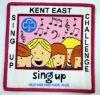 kids challenge woven badges
