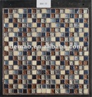 15*15*8mm glass mosaic tiles(BDA-77)