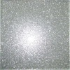 Silver Glass Tile with Glitter,Pure white Glass Tile