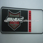 Silicone and PVC luggage case label