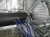 HDPE winded pipe production line