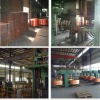 High yield & conductivity upcast copper rod