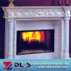 Carving stone fireplace mantel