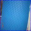 plastic screen mesh bright blue