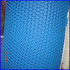 plastic screen mesh bright blue