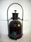 home decoration elegant portable mosaic glass lamp