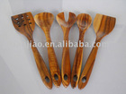 Acacia wood salad Tools