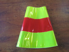 reflective sleeve for traffic cone