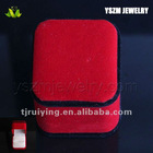 Red color ring box with insert,jewelry box RY008569BY