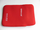 red neoprene laptop computer bag