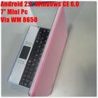 7 inch VIA WM8650 2GB HDD Camera Laptop Notebook
