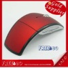 2.4GHz USB Wireless Arc Foldable Folding Optical Mouse