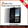 Privacy Screen Protector Guard for iPad(paypal accept)