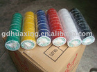 6 colors hand-wrapped PVC Adhesive Tape