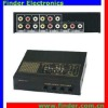 4Way AV Switch (AV Selector, Audio Video Switch)