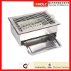 High quality folding metal outdoor barbecue grill stainless steel BBQ grill