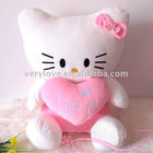 plush toy stuffing felt toy of kitty cat soft toy