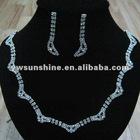 Elegant magnetic lace collar necklace set