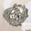 Jewellery gemstone alloy ring