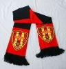 Acrylic & Spandex Knitted Football Fan Scarf