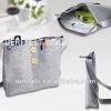 Simple Design Felt Messenger Bag