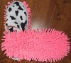 Cheap good men women chenille slipper factory