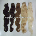 Hot selling high quality body wave virgin peruvian and brazilian hair weave bundles