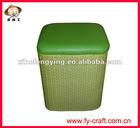 2011 fashion foldable storage stool ottoman,storage stool box